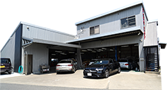 板金塗装・修理工場 福岡